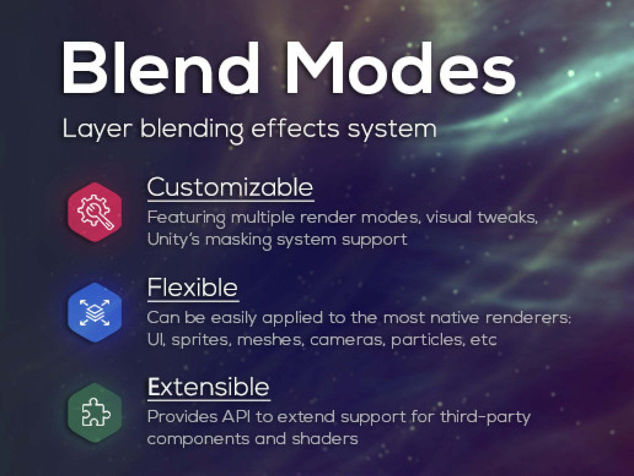 Unity Assets Editor Extensions Effects