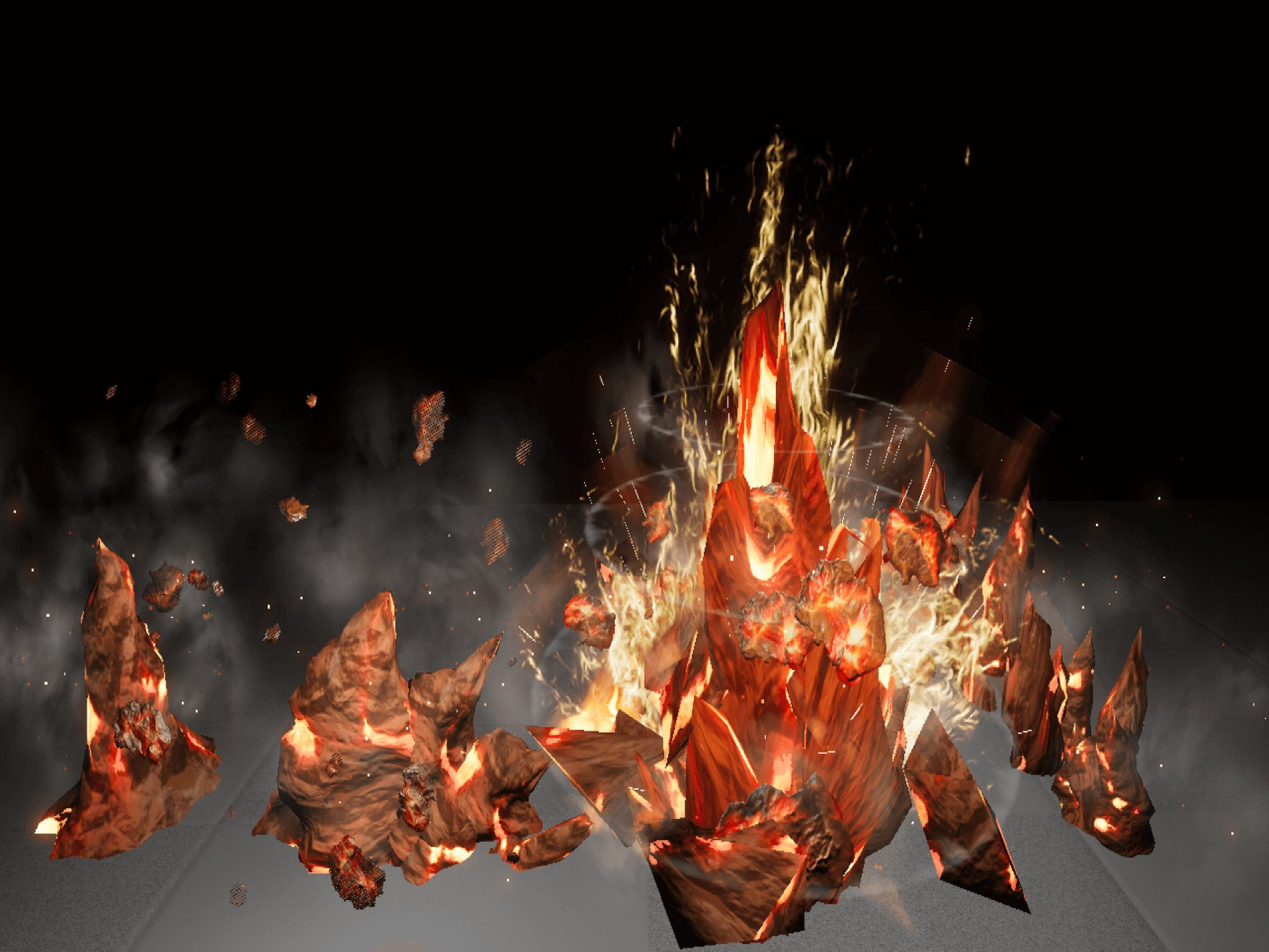 Unreal Engine Particles And Fx
